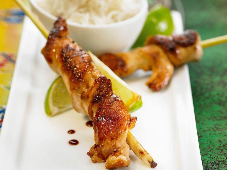 Brochettes de poulet tandoori - Recettes