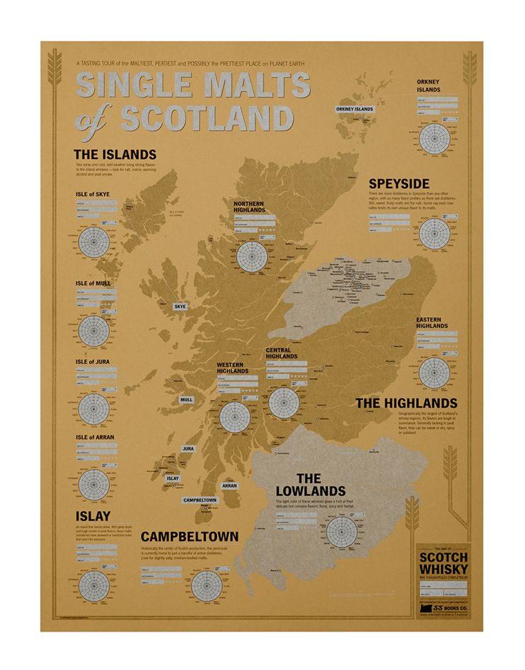 Tasting Maps via Dieline 39 best Design