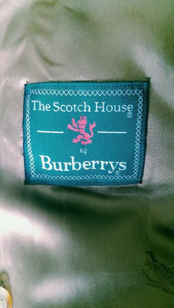 Scotch House / Burberrys via @neji_style
