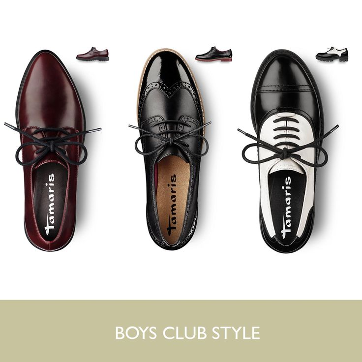 Boys Club is THE trend of this season. Which one would be your choice?