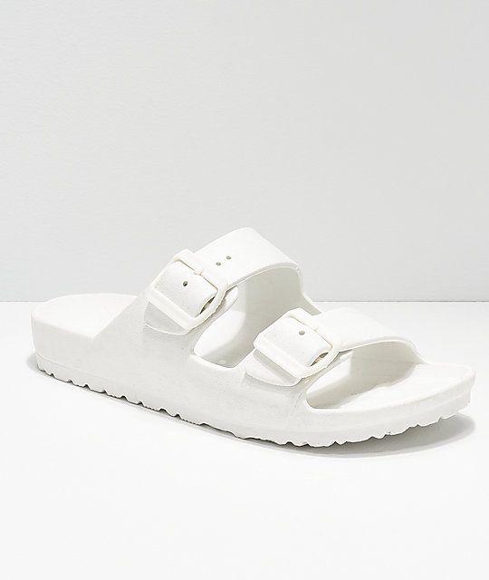 020b54280e6a Gigi Antiks 2 White Strap Sandals in 2019