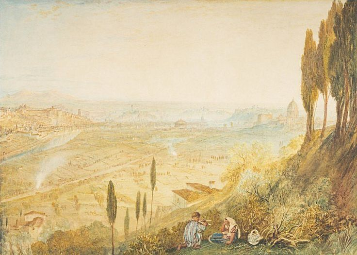 Rome from Monte Mario − Joseph Mallord William Turner − t − Artists A-Z − Online Collection − Collection − National Galleries of Scotland