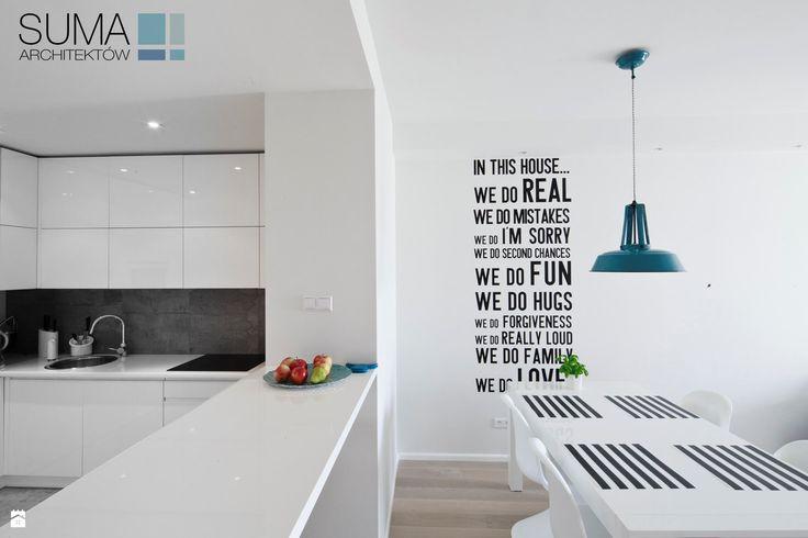 MODERN ONE - REALIZACJA - SUMA Architektów - zdjęcie od SUMA Architektów - Jadalnia - Styl Nowoczesny - SUMA Architektów