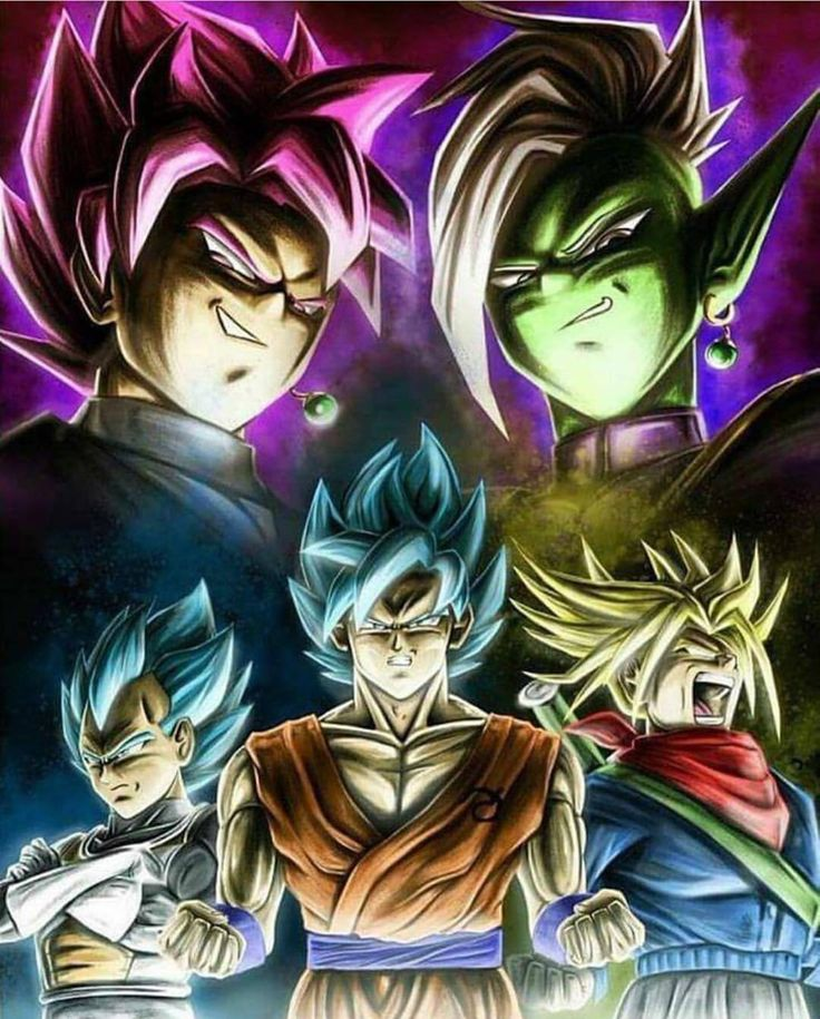 The most important cast of Dragon Ball Supers Goku Black Arc