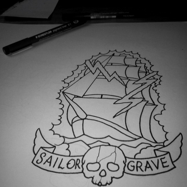 1000 images about art pics on pinterest tattoo for Sailors grave tattoo gallery