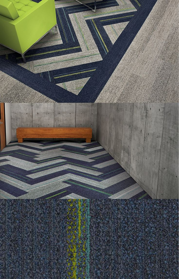 40 best creative carpet tile installatons images on pinterest absolutely in love with this new line of lux commercial carpet tiles interface baanklon Gallery
