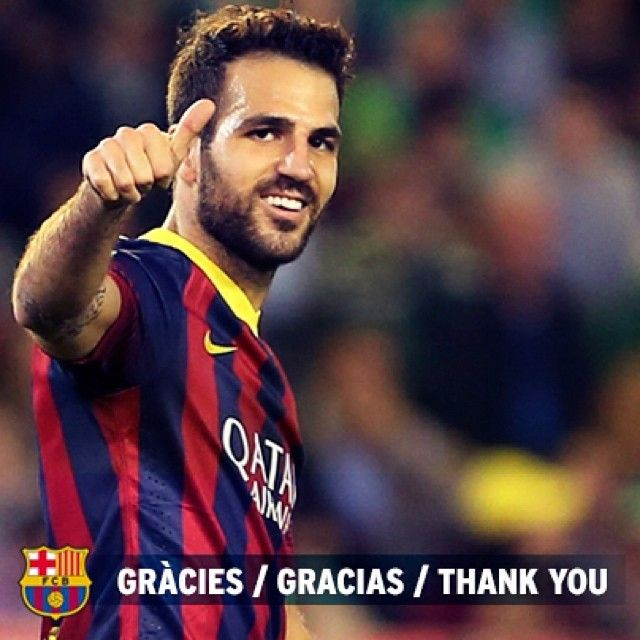FC Barcelona and Chelsea FC have reached an agreement for the transfer of player Cesc Fàbregas to the English club. FC Barcelona wishes to publicly thank Cesc Fàbregas for his professionalism and dedication during his years at the Club, which will always be his home, and to wish him all the very best for the future. #ThanksCesc @cescf4bregas - http://share.pixable.com/share/5Gchi/?tracksrc=SHPNAND3