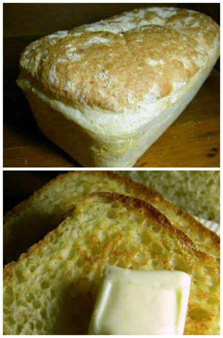 Easy No-Knead English Muffin Bread Recipe