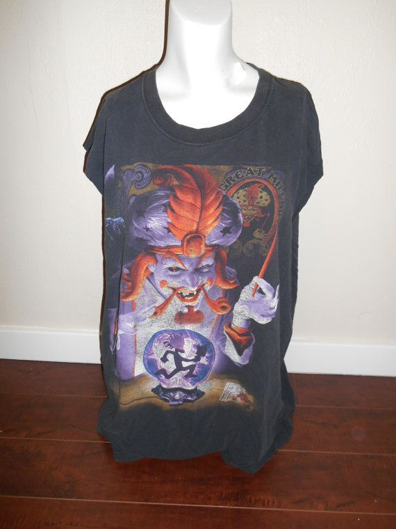 90s  Reworked ICP insane Clown Posse  t by ATELIERVINTAGESHOP