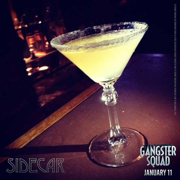 Wedding Reception Drinks! Xx Cocktails of the 1940s - #Sidecar:1 1/2 oz cognac | 1 oz orange liqueur | 1/2 oz lemon juice | 1 lemon wedge | Moisten the rim of a chilled cocktail glass with the lemon wedge | Dip the rim in sugar | Shake ingredients together with ice, pour and serve. #1940s #cocktails