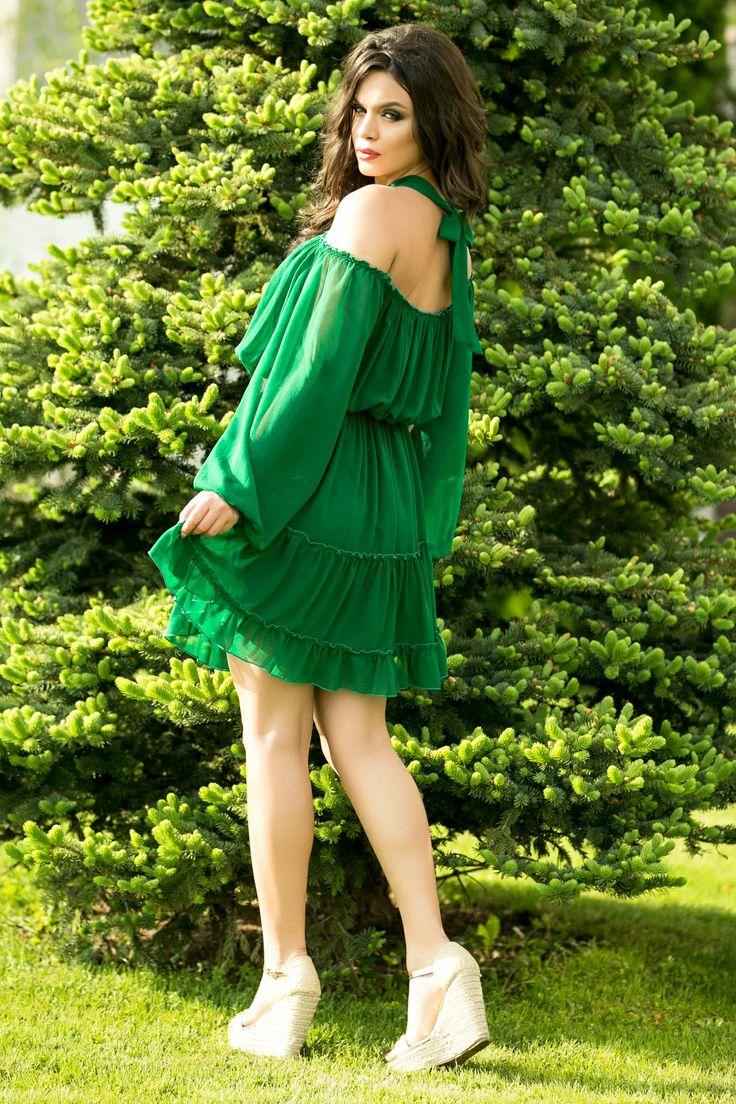 Rochie cu volane | Madelia Fashion - Magazin online haine și rochii de damă