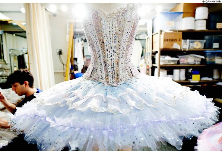 The Dew Drop tutu I made for the new version of The Nutcracker!    Boston Ballet #Nutcracker