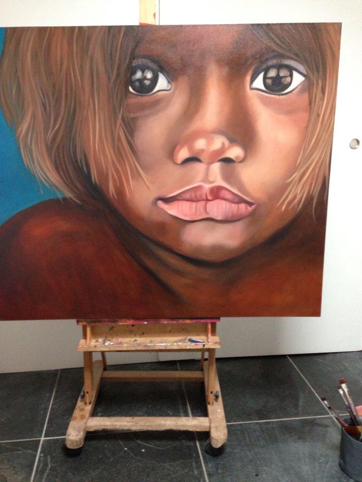 Oil painting....artist Sonja Zijlstra