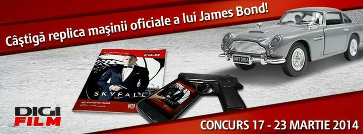 Concurs James Bond #digifilm