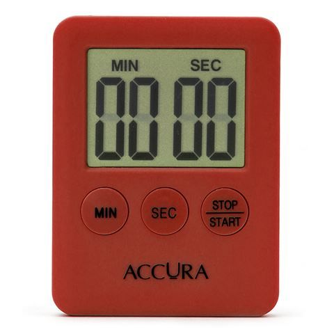 Accura - 99 Minute Red Digital Timer