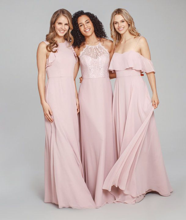 653b79e292b4 Hayley Paige Occasions Dusty Rose bridesmaids dresses-Styles 5861,5863, &  5854.
