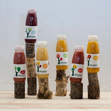 Romantics Drinks - fresh juices from Romantics