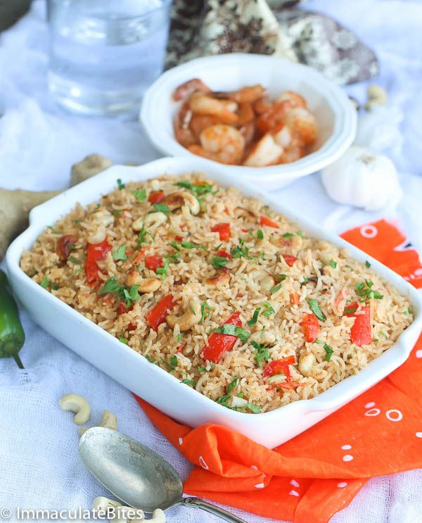 African Pilau #Rice with spice blend - Quick and easy rice , cooked in countries like Kenya, Tanzania , Eritrea and South Africa.
