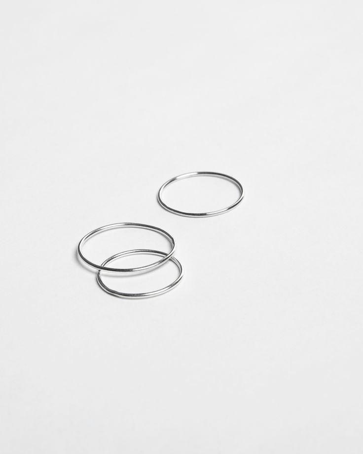 rings - Anna Lawska Jewellery / collection - back to basic -