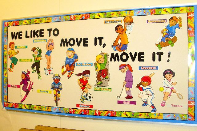PEC: Bulletin Boards for Physical Education Could be used for dance elements! Levels, shapes, direction, locomotor and nonlocomotor.