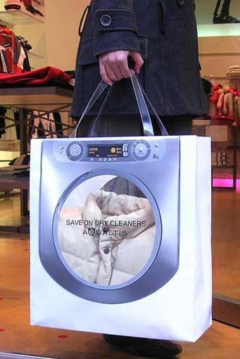 Aqualtis (Indesit) Washing Machine / Bag