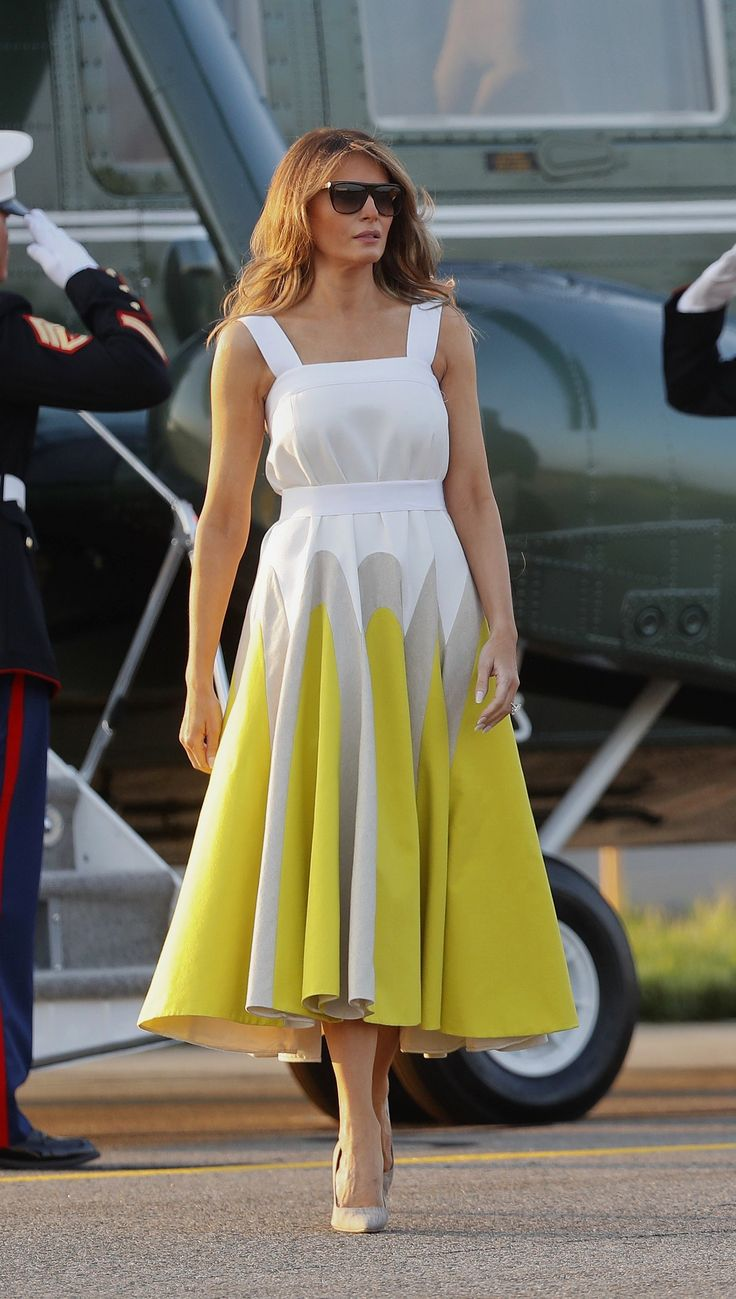 Where to buy melania trump dress