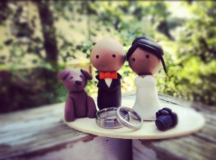 #Wedding #CakeTopper for Chamaine and @Arnold Dela Cruz Alina #deeconstructed #whiskuponastar