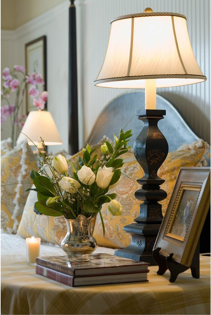 Bedside table decor pinterest - How To Style Your Bedside Table Wear And Where