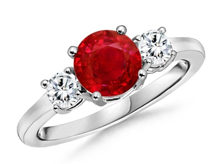 Classic Ruby Wedding Ring