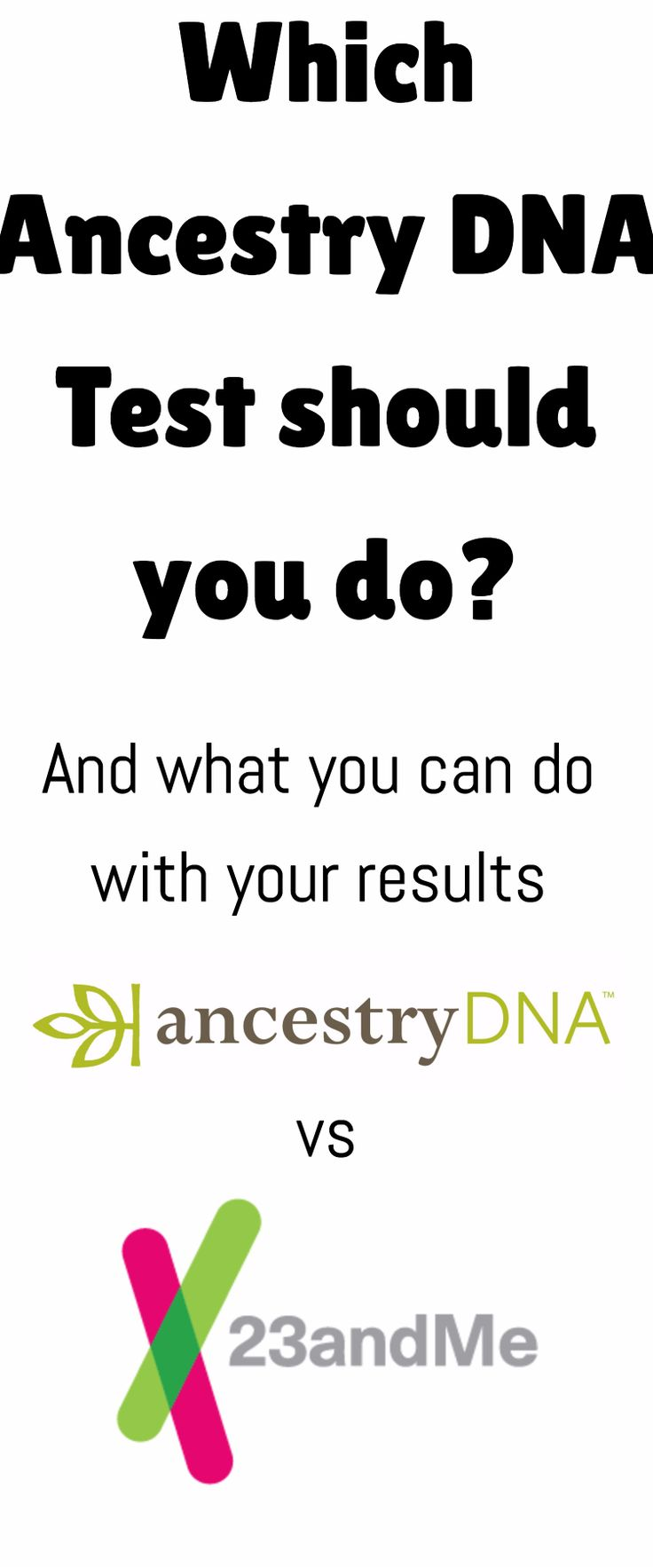 AncestryDNA vs 23andme / family history/ dna testing / family / mormon / via @clarkscondensed