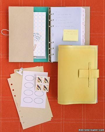 DIY Day Planner How-To