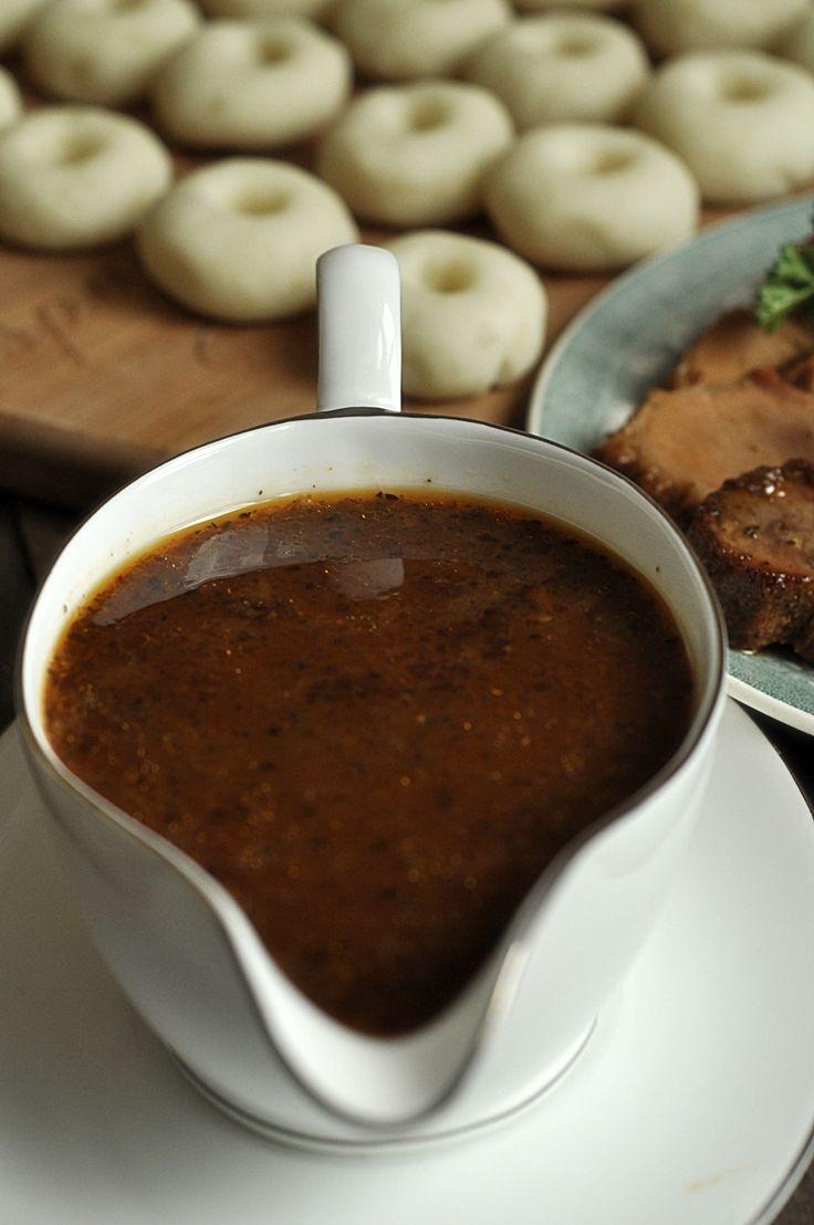 sos pieczeniowy