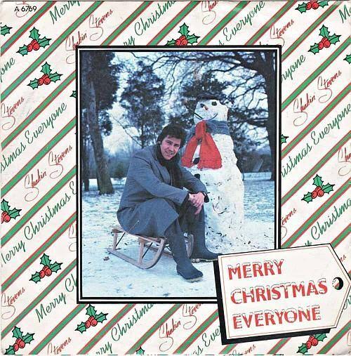 Shakin' Stevens - Merry Christmas Everyone vinyl single sleeve