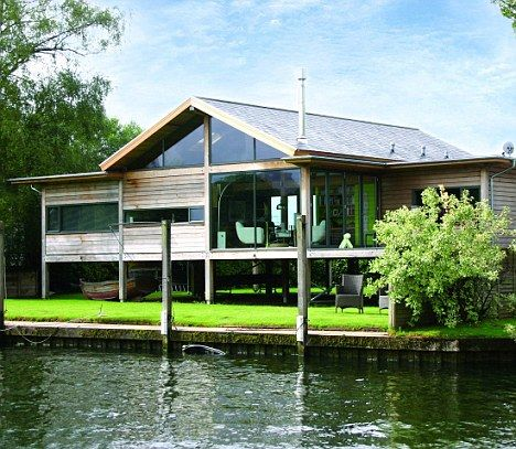 38 best ideas for the house images on pinterest property for Modern house on stilts