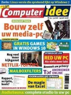 Proefabonnement: 3x ComputerIdee € 7,50: Lees Computer Idee, het blad dat niet moeilijk doet over computers. Helder, duidelijk, leerzaam en goedkoop. Neem een proefabonnement op ComputerIdee en profiteer van een aantrekkelijke korting.