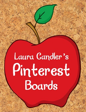 Laura Candler's main Pinterest page with over 30 educational boards - mostly free resources! Repin this to one of your own boards, and it will be easy to find Laura's teaching resources!