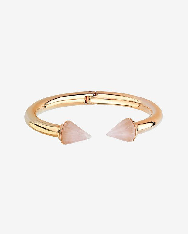 Pin for Later: 28 Delicate Jewels to Layer Up All Summer Vita Fede Rose Quartz Titan Bracelet Vita Fede Rose Quartz Titan Bracelet ($478)