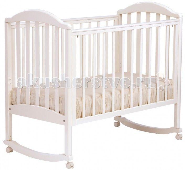 Детская кроватка Кубаньлесстрой АБ 17.0 Лилия Люкс качалка без ящика  Детская кроватка Кубаньлесстрой АБ 17.0 Лилия Люкс  Натуральный материал, привлекательный дизайн и демократичная цена - вот главные преимущества кроваток Кубаньлесстрой. Если мебель с именно этими качествами вы стараетесь подобрать для детской комнаты своего малыша, считайте, что вы на правильном пути: кроватка-качалка Лилия сочетает в себе все три!  Каждая мама знает, что ребенка по возможности должны окружать…