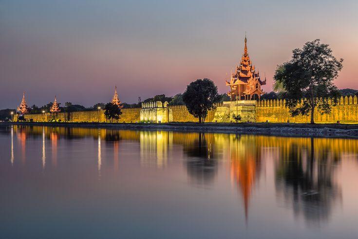 The Mandalay Royal Palace, Mandalay, Myanmar — Geoff Billing Photography.