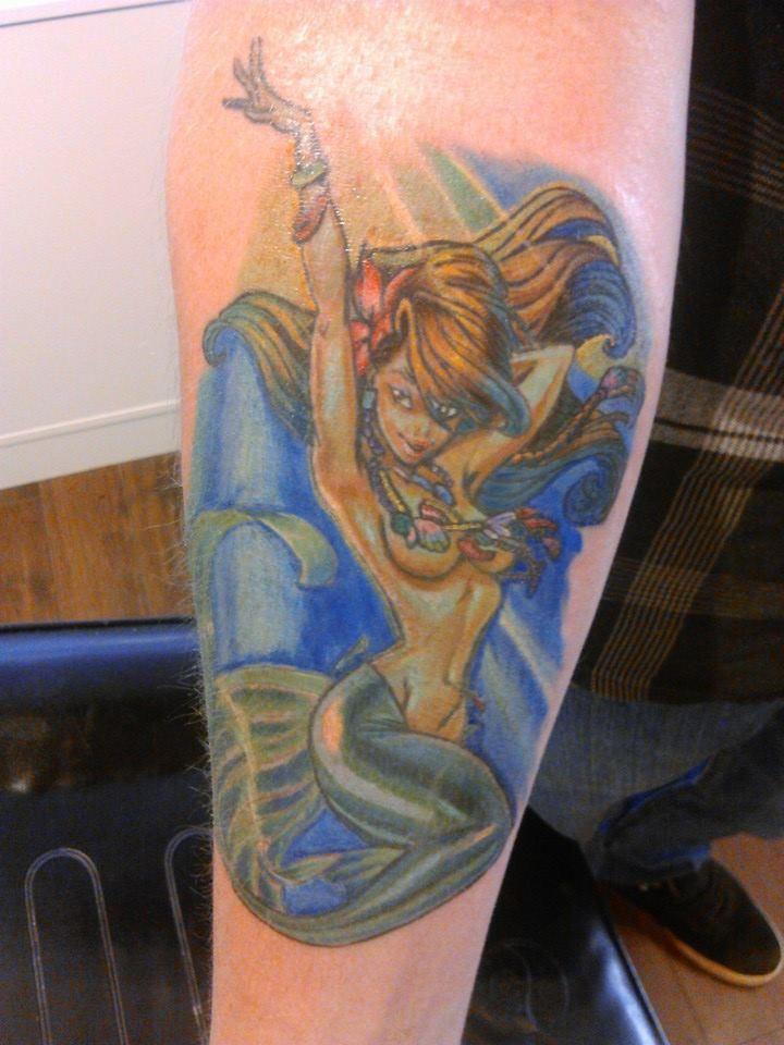 Mermaid tattoo mermaids tattoos art pinterest for Mermaid tattoos pinterest