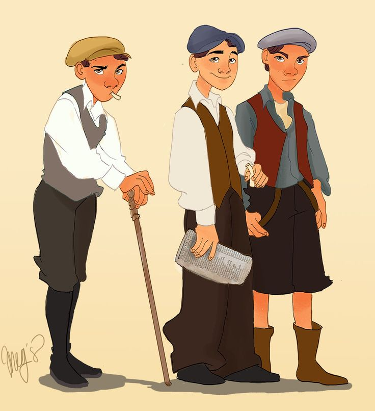 Newsies! by megsplash