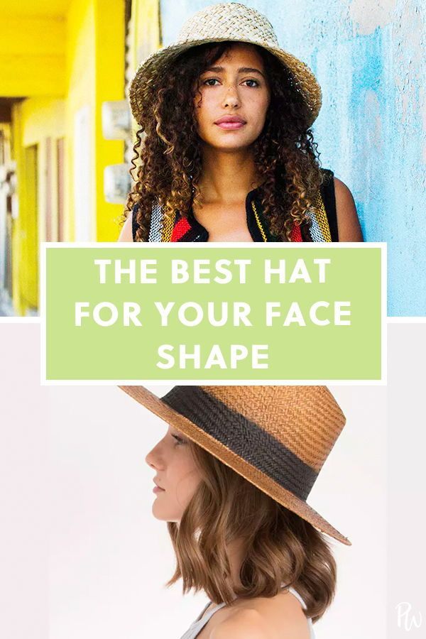 4377de4317b9f The Best Hat for Your Face Shape. There s a style out there for everyone if  you take a few basic guidelines into consideration. Find your best option  below