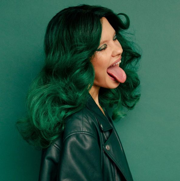 1000 Ideas About Emerald Green Hair On Pinterest Green Hair Manic Panic Enchanted Forest And