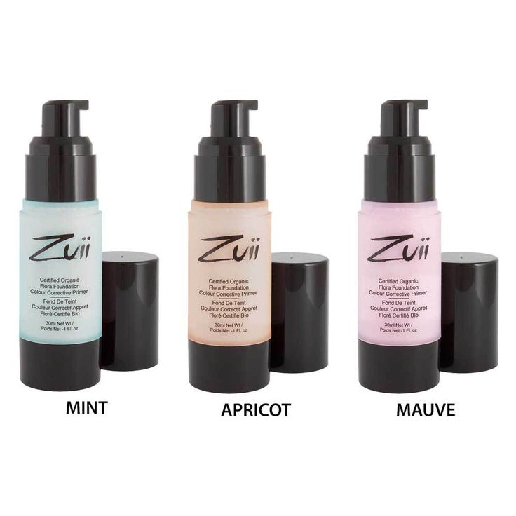 Zuii Organic Certified Organic colour corrective primer sample pack. Click here to see  this at Flora & Fauna.