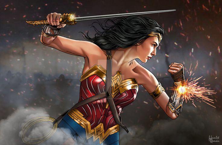 Wonder Woman God killer Sword by hamletroman.deviantart.com on @DeviantArt - More at https://pinterest.com/supergirlsart #wonderwoman #fanart