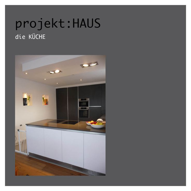 Küche modern schwarz weiß grau beton stein tafel