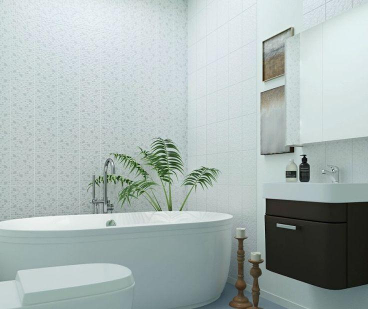 керамическая плитка  для ванной комнаты Керамин Каскад