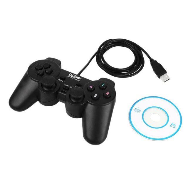 Wired USB del Juego Del Juego Del USB Gamepad Para PC Control Gamepad Joypad Joystick para Pc Portátil Para PC Con Windows