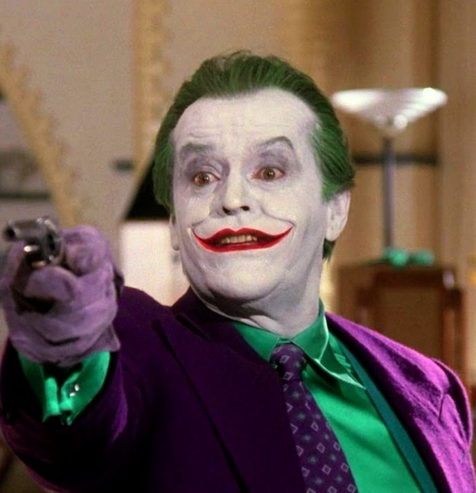 DC Comics in film n°8 - 1989 - Batman - Jack Nicholson as The Joker