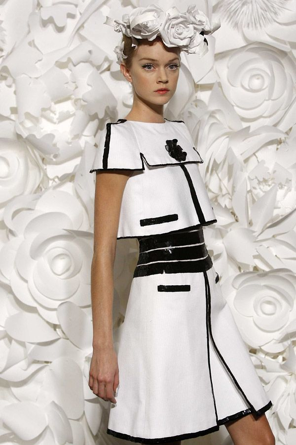 Chanel Spring/Summer 2009 Haute Couture show at Paris Fashion Week.